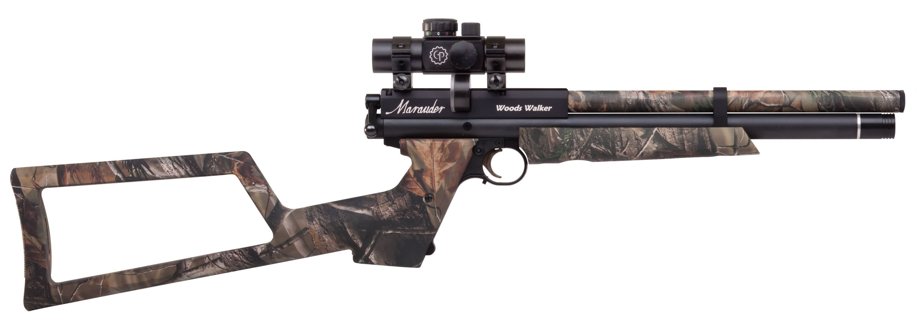 Benjamin Marauder Woods Walker Air Rifle Pre-Charged Pneumatic (PCP) Bolt Action .22 Pellet