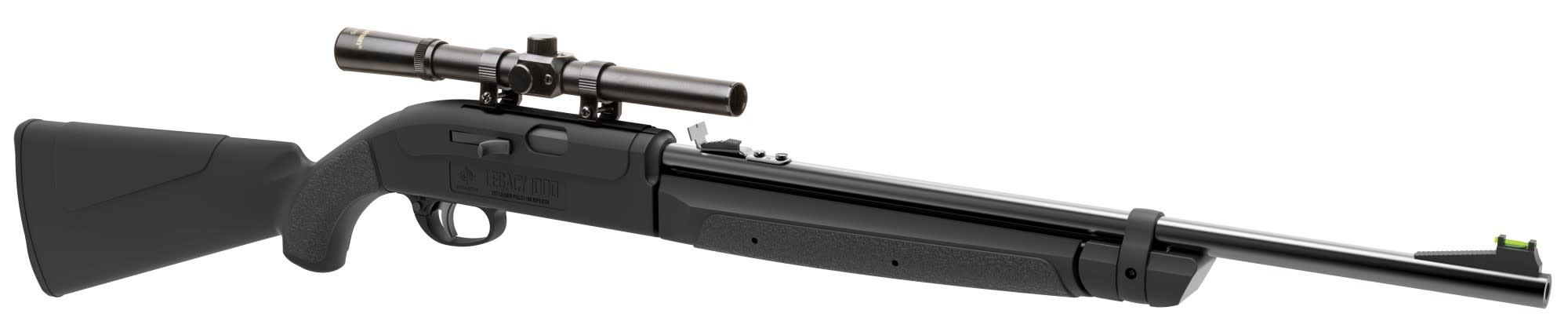 Crosman Legacy 1000 Air Rifle Multi-Pump Pneumatic Bolt Action .177 Pellet/BB with 4x15mm scope