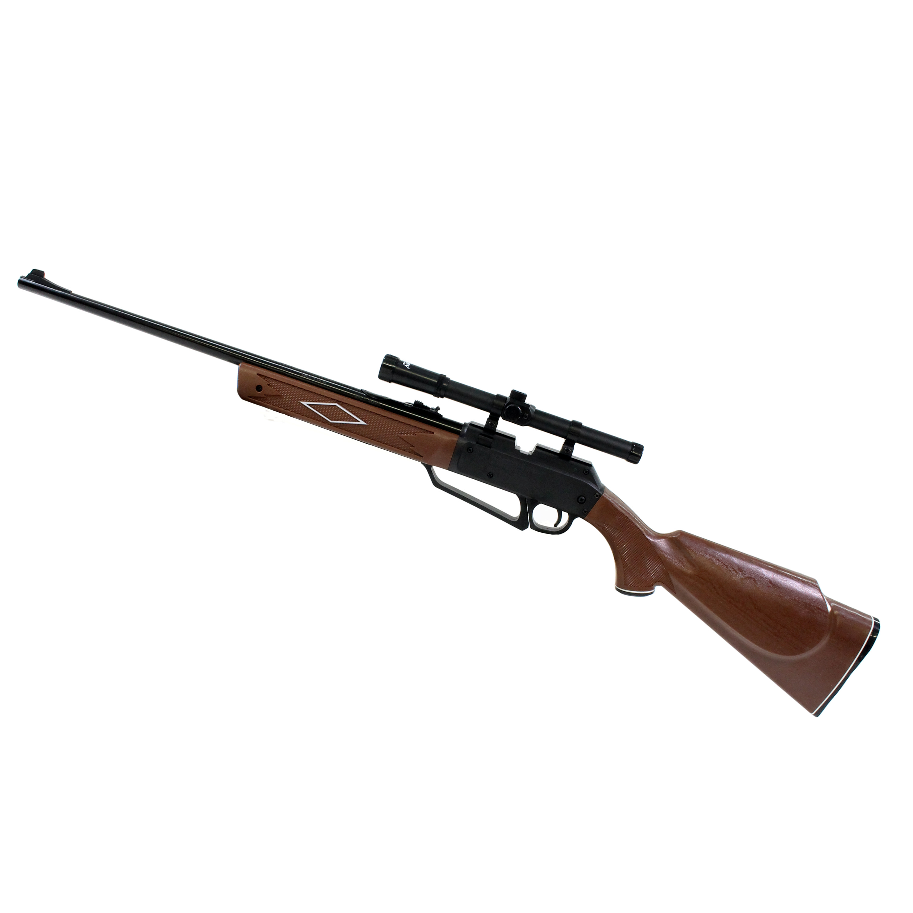 Daisy 880S Air Rifle Multi-Pump Pneumatic Bolt Action .177 Pellet/BB with 4x15mm scope