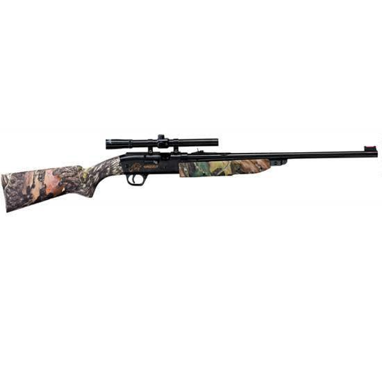 Daisy Model 4841 Grizzly Air Rifle Single-stroke Pneumatic Bolt Action .177 Pellet/BB with 4x15mm scope
