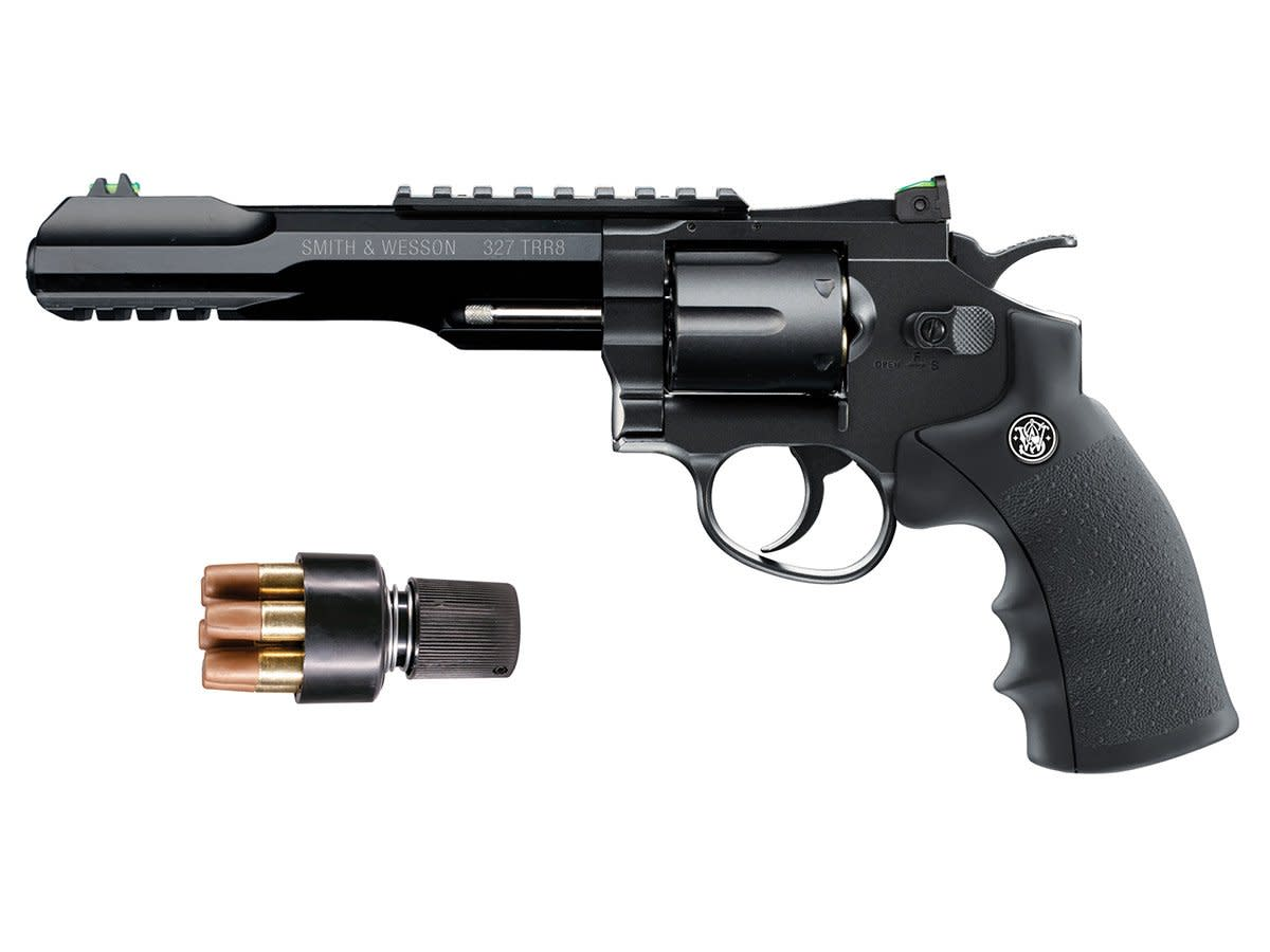 Smith & Wesson 327 TRR8 Air Pistol CO2 Revolver .177 BB