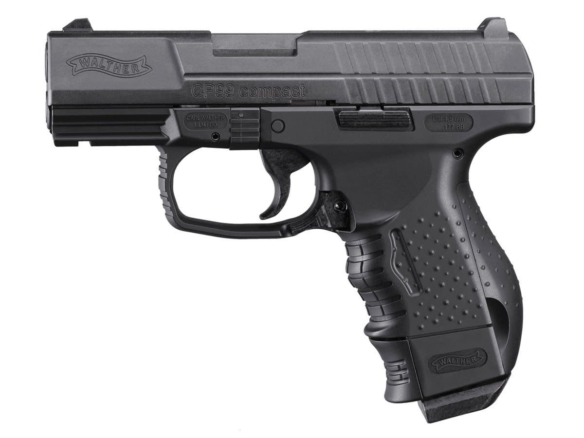Walther CP99 Compact Blowback Air Pistol CO2 Semi-Automatic .177 BB