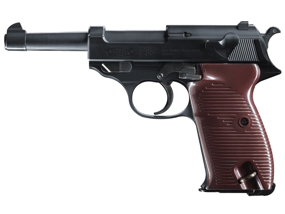 Walther P38 Blowback Air Pistol CO2 Semi-Automatic .177 BB