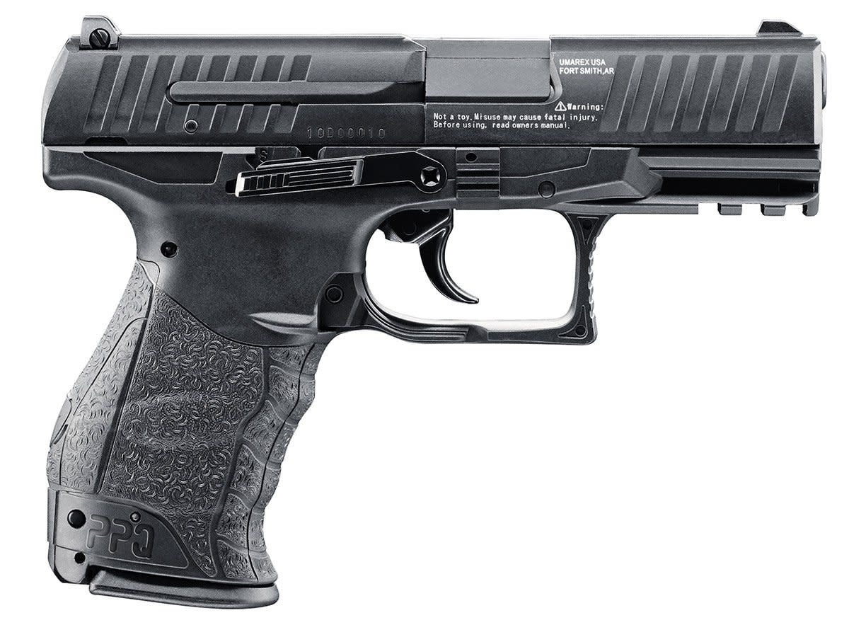 Walther PPQ Air Pistol CO2 Semi-Automatic .177 Pellet/BB