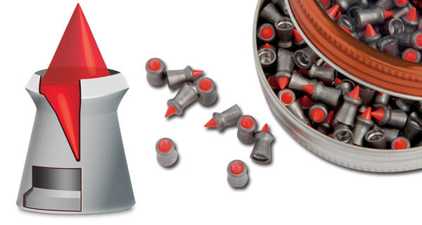 Gamo Red Fire .22 Cal Pellet 15.4 Grains Pointed Lead 125ct