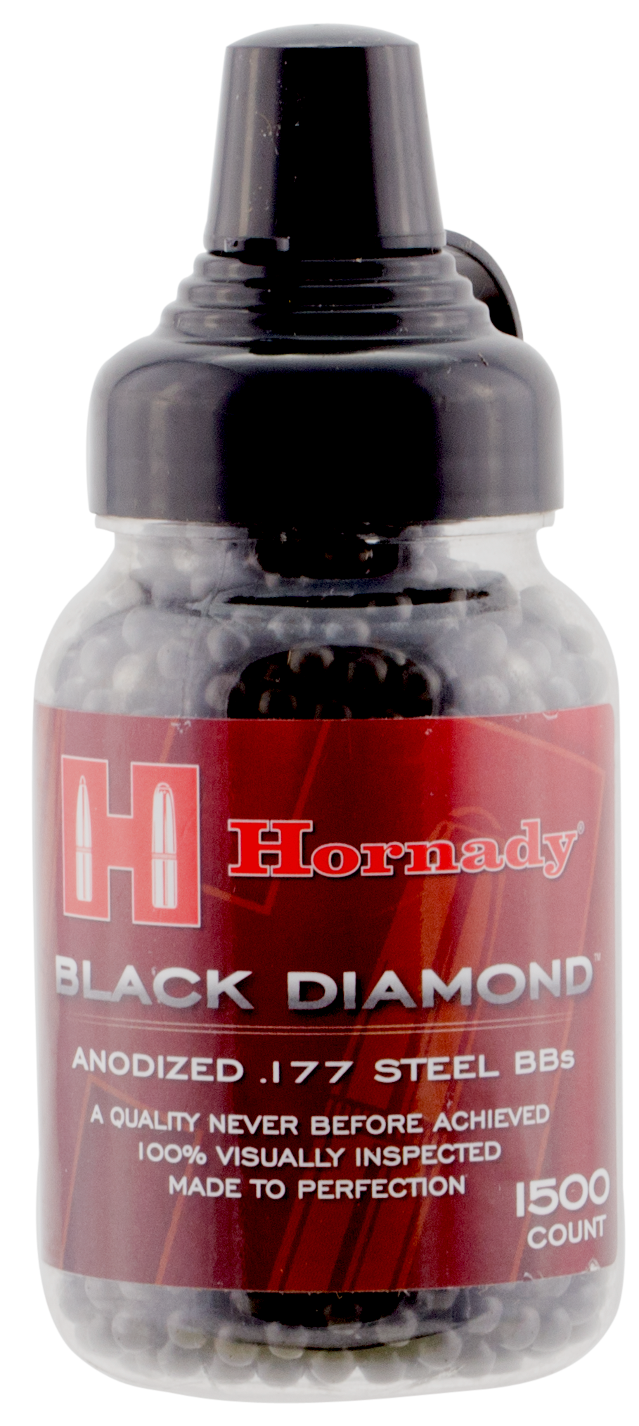 Hornady Black Diamond .177 Cal BB 5.1 Grains BB Steel 1500ct