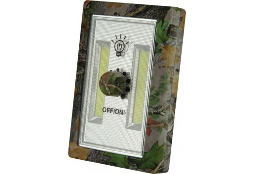 Rivers Edge Cordless Night Light with Dimmer Switch - Camo