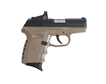 SCCY CPX-2 Pistol - 9mm 10+1 - Crimson Trace CTS-1500 Sight - FDE/Black