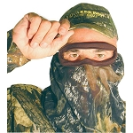 QUAKER BOY BANDITO ELITE 3/4 FACE MASK - MOSSY OAK BREAK-UP