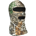 Primos Stretch Fit Full Hood Face Mask - Realtree Edge