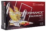 Hornady Superformance Varmint Ammunition 223 Remington 53GR V-Max Polymer Tip Per 20