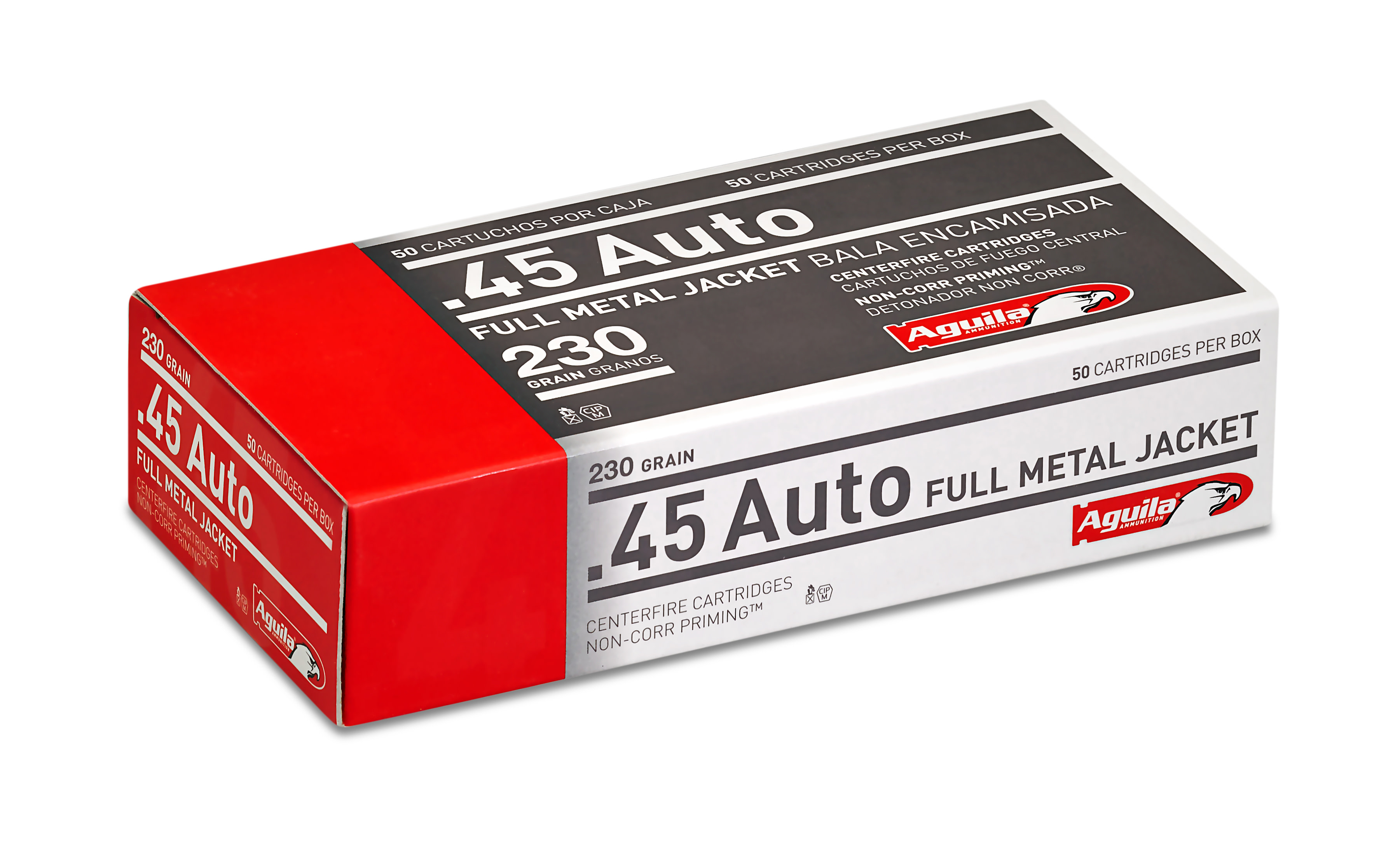 Aguila Ammunition 45 Auto (ACP) 230 Grain Full Metal Jacket Per 50