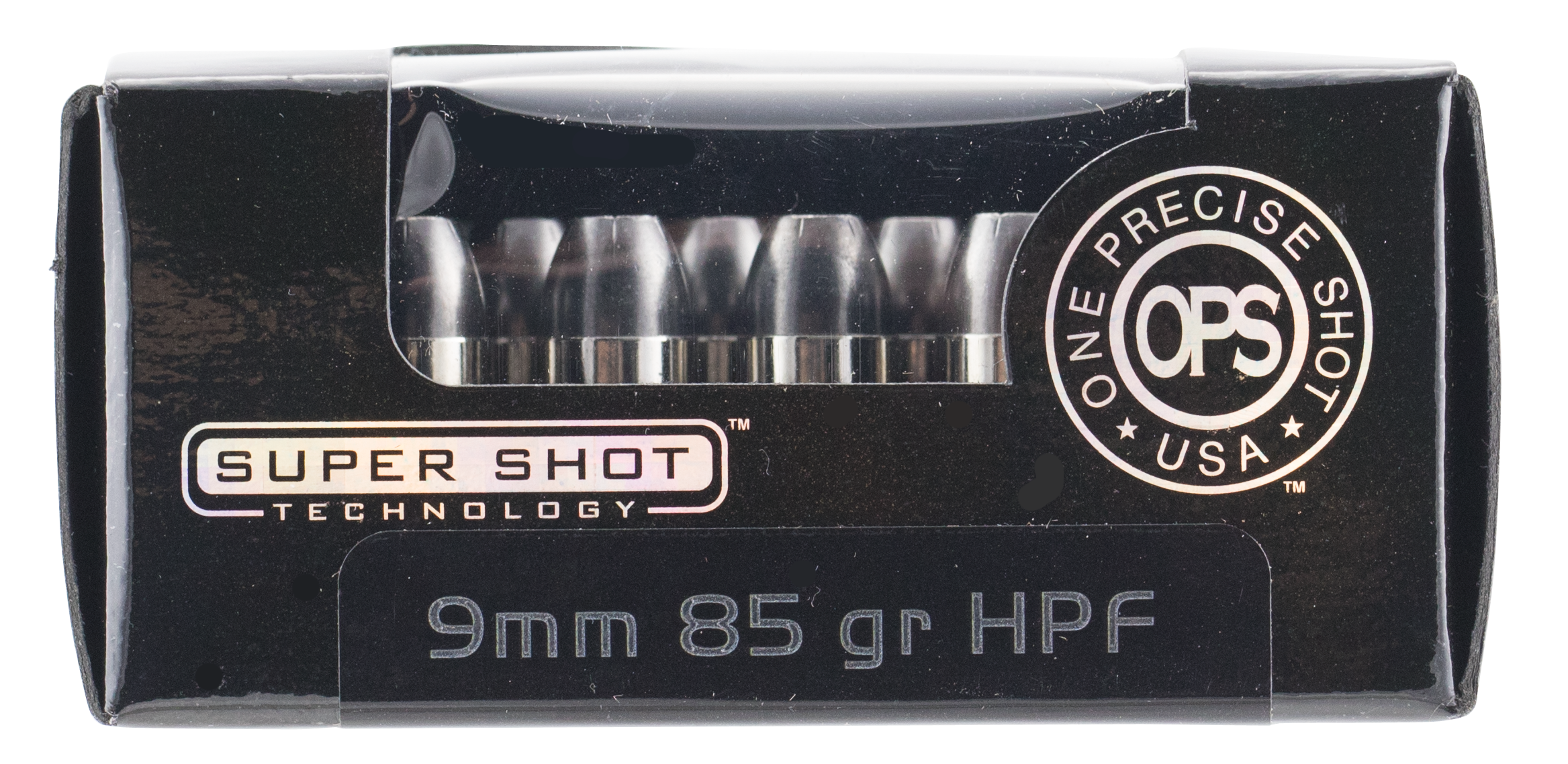 Ammo Inc. OPS Ammunition 9mm Luger 85 Grain Frangible Hollow Point Per 20