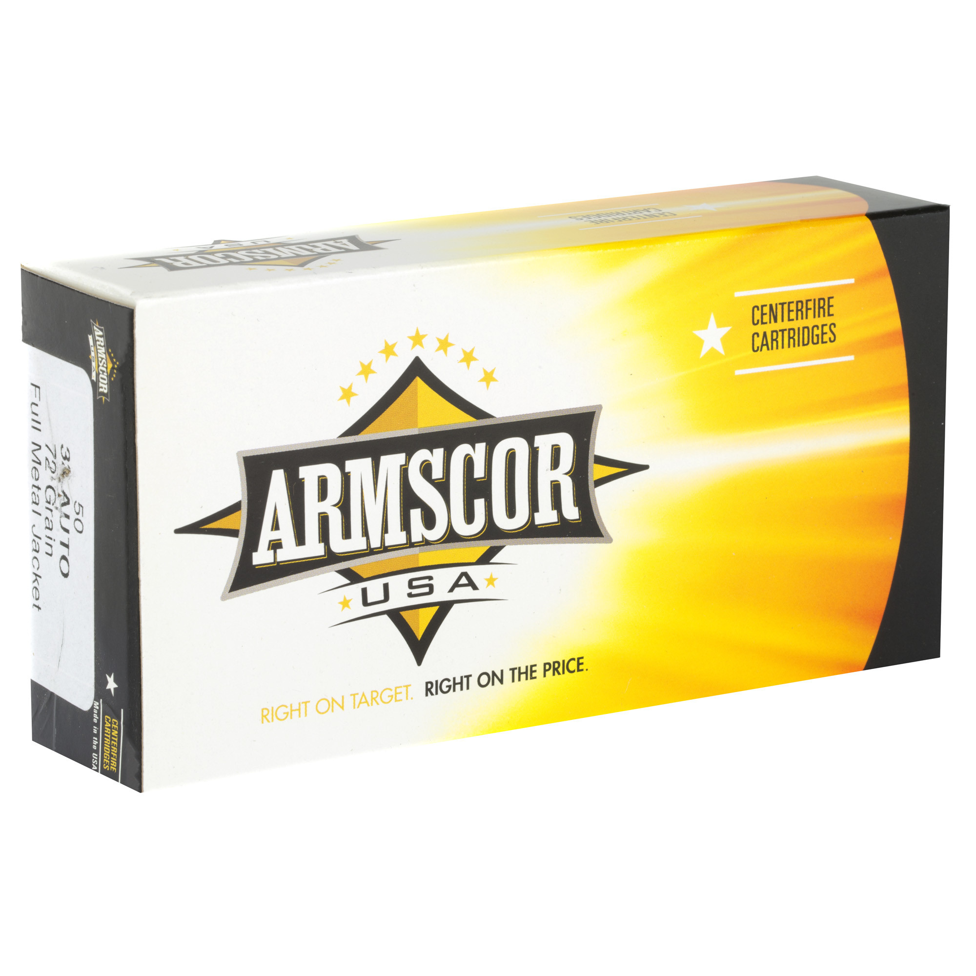 Armscor USA Ammunition 32 Auto (ACP) 71 Grain Full Metal Jacket Per 50