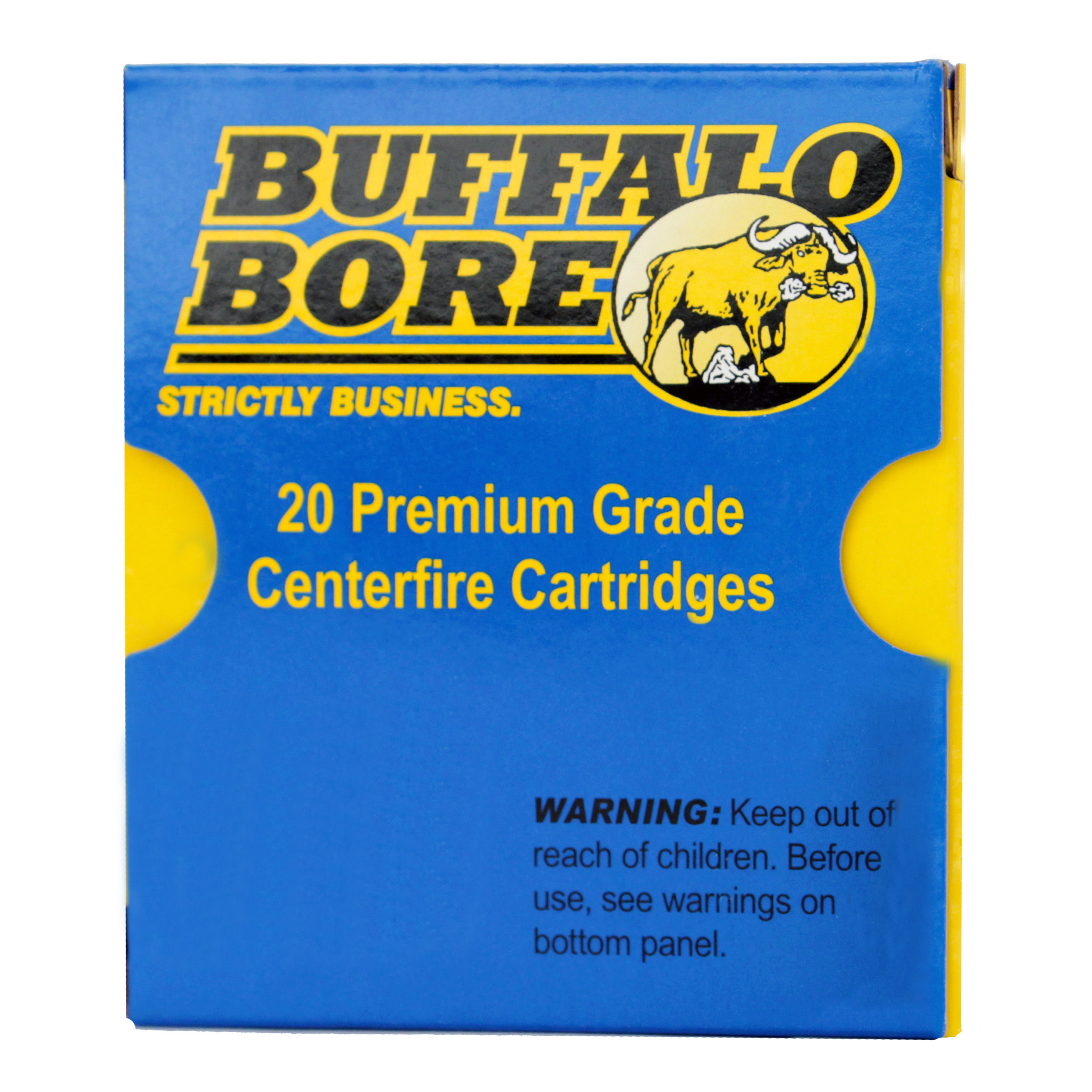 Buffalo Bore Ammunition 9mm Luger +P+ 147 Grain Jacketed Hollow Point Per 20