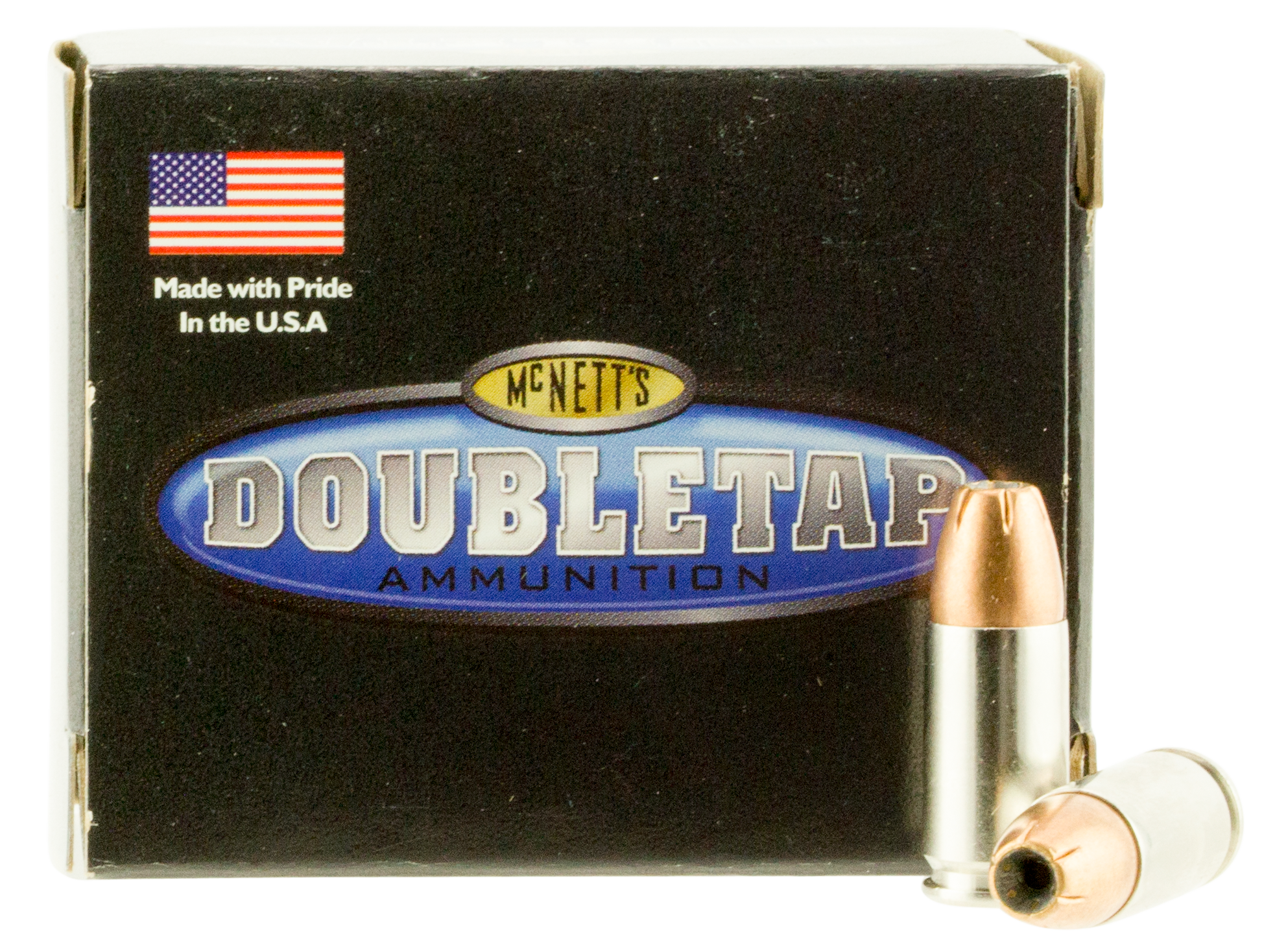 Double Tap DT Defense Ammunition 9mm Luger 165 Grain Jacketed Hollow Point Per 20