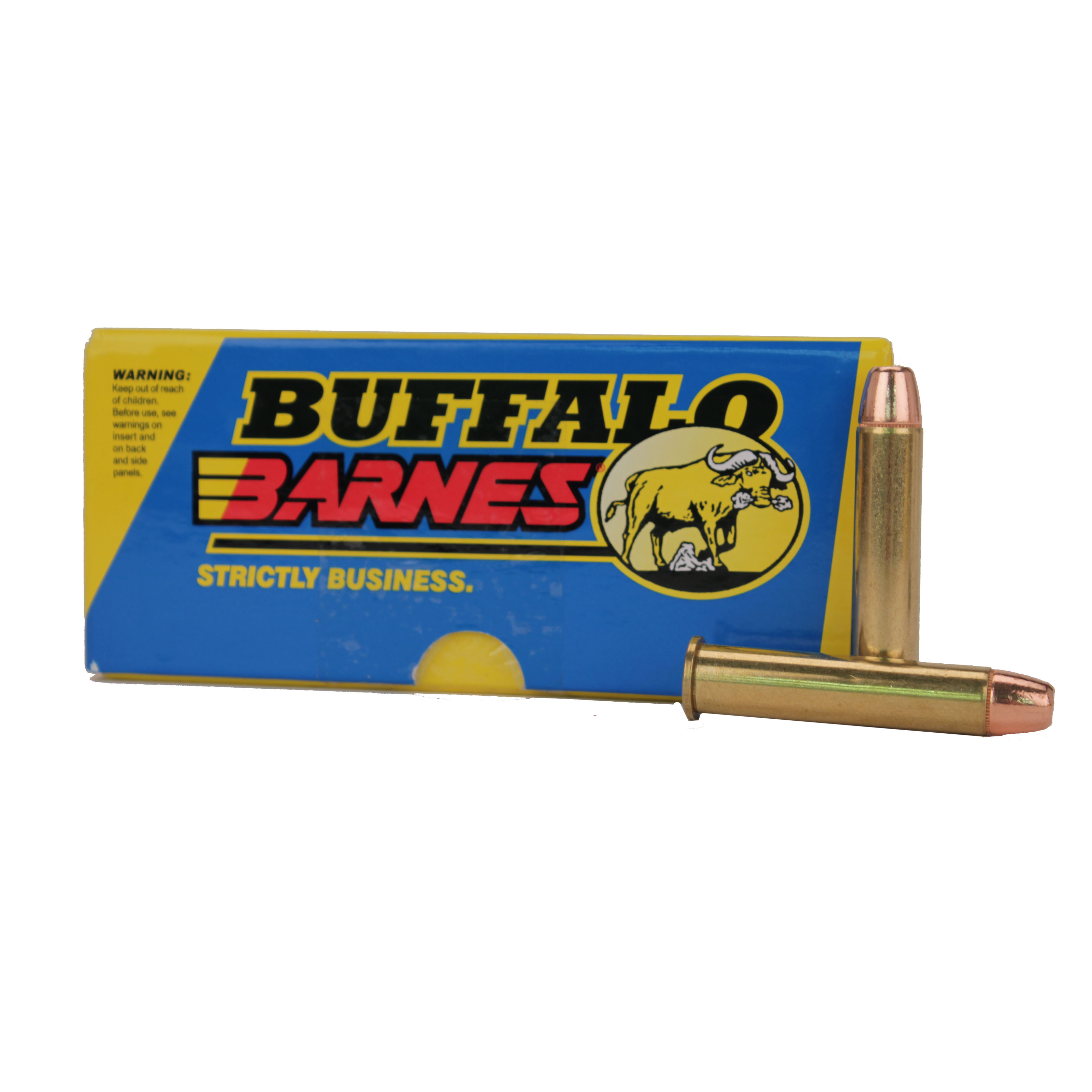 Buffalo Bore Ammunition 45-70 Government 500GR Barnes Buster Full Metal Jacket Per 20