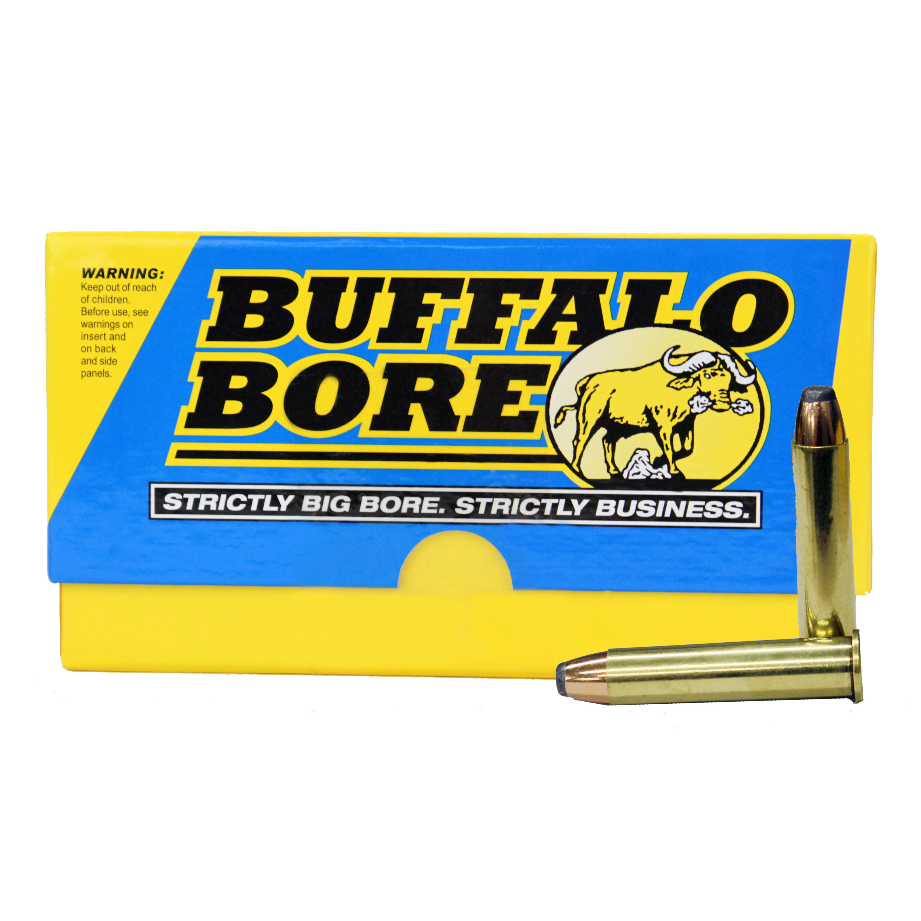 Buffalo Bore Ammunition 45-70 Government 350GR Jacketed Flat Nose Per 20