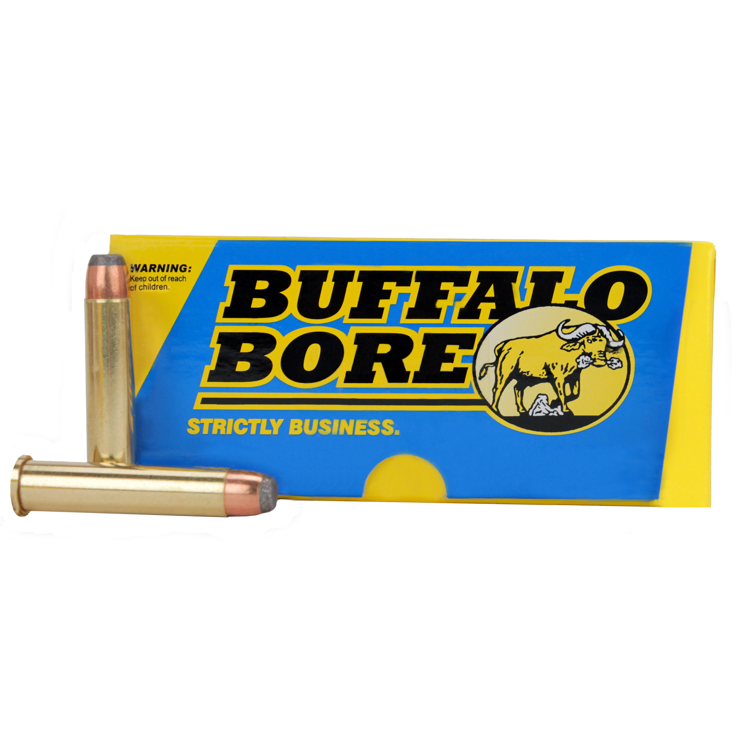 Buffalo Bore Ammunition 45-70 Government 405GR Jacketed Flat Nose Per 20