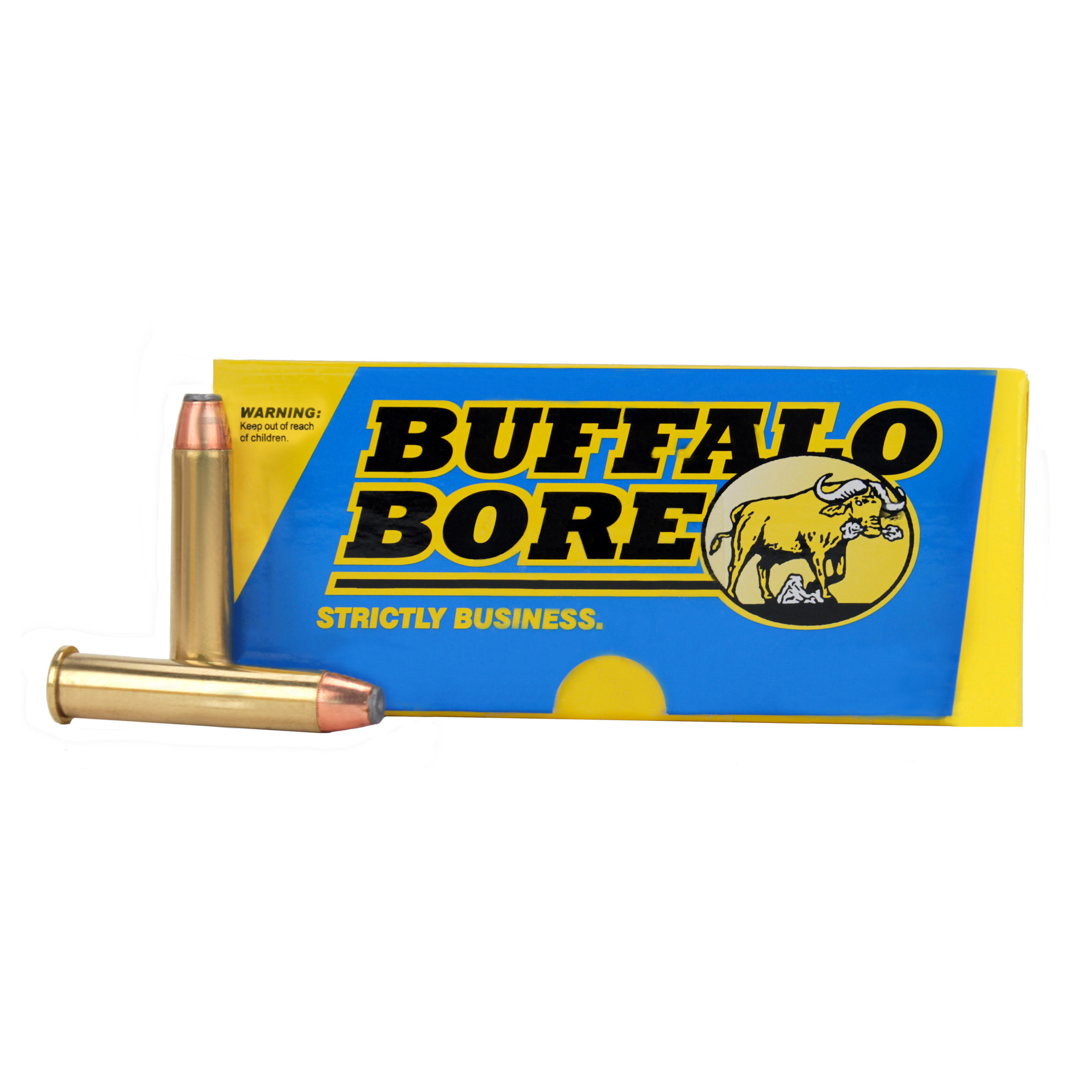 Buffalo Bore Ammunition 45-70 Government 300GR Jacketed Hollow Point Per 20