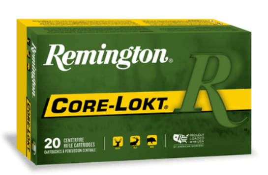 Remington Express Ammunition 300 Winchester Short Magnum (WSM) 150GR Core-Lokt Pointed Soft Point Per 20