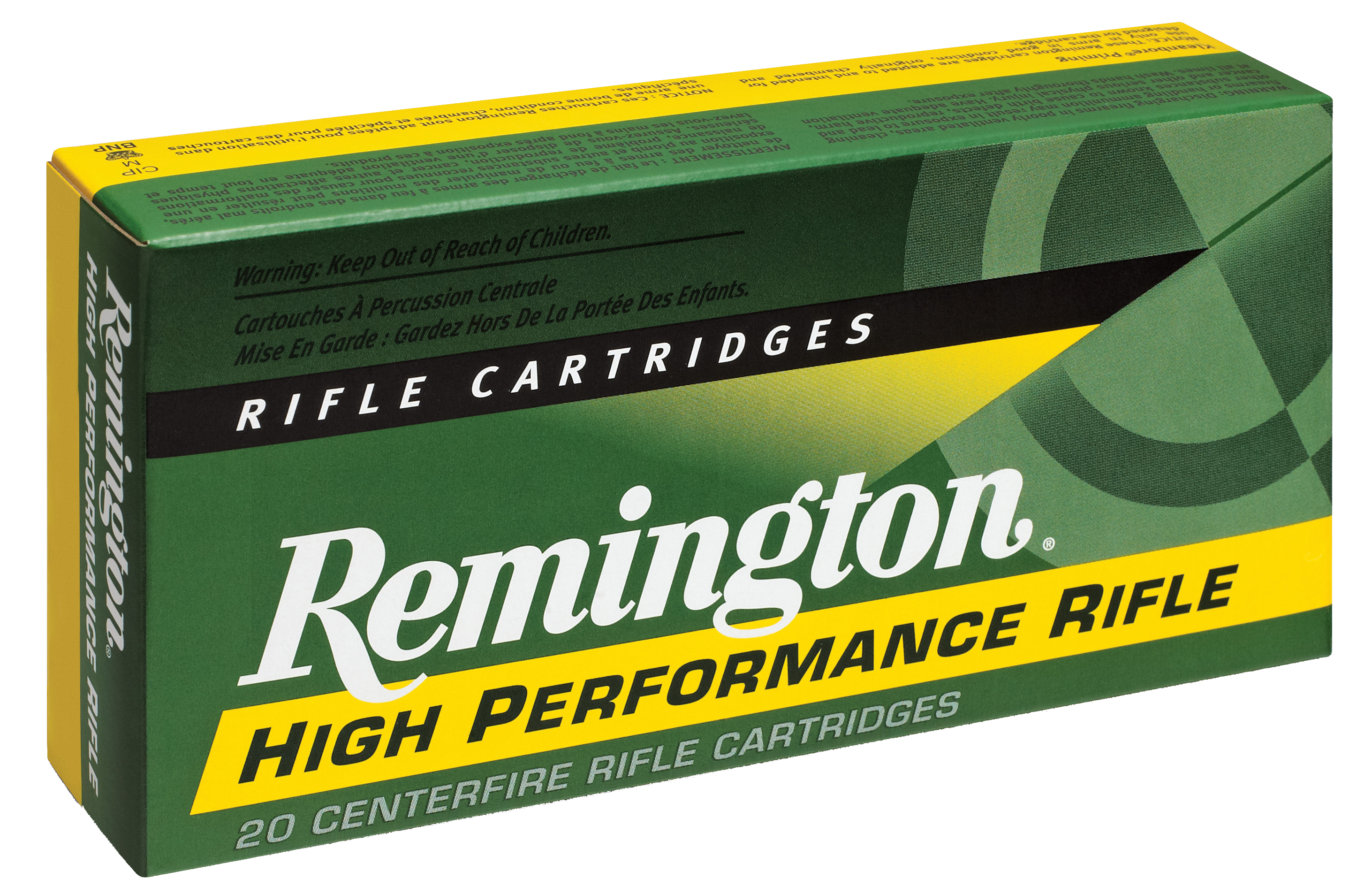 Remington High Performance Ammunition 45-70 Government 300GR Semi Jacketed Hollow Point Per 20