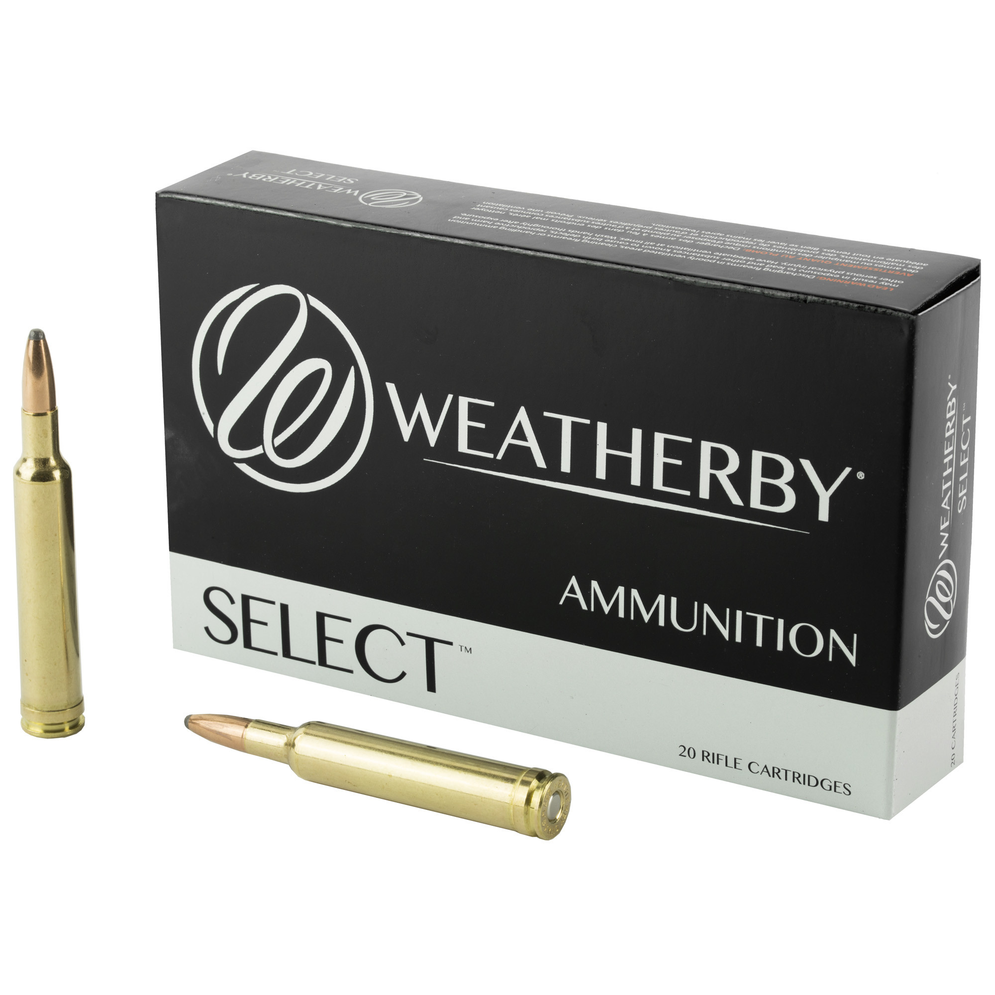 Weatherby Select Ammunition 240 Weatherby Magnum 100GR Norma Spitzer Per 20