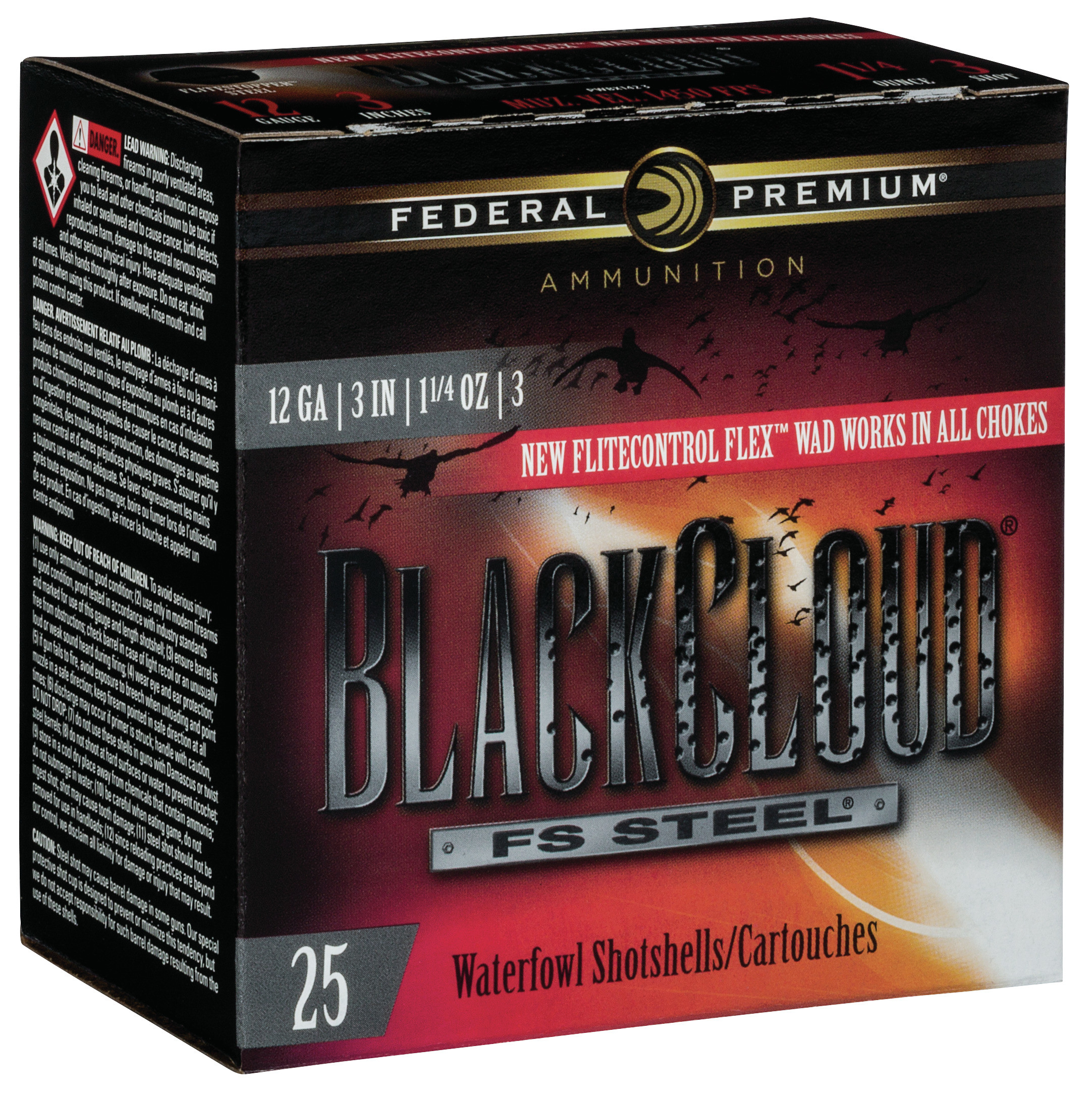 Federal Premium Black Cloud Waterfowl Ammunition 12 Gauge 3