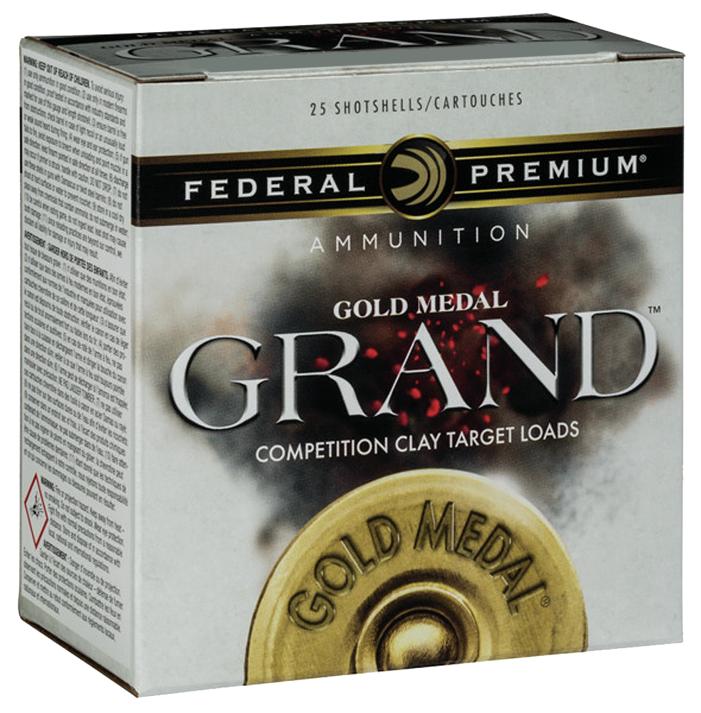 Federal Premium Gold Medal Grand Target Load 12 Gauge 2-3/4