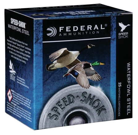 Federal Speed-Shok Waterfowl Ammunition 28 Gauge 2-3/4