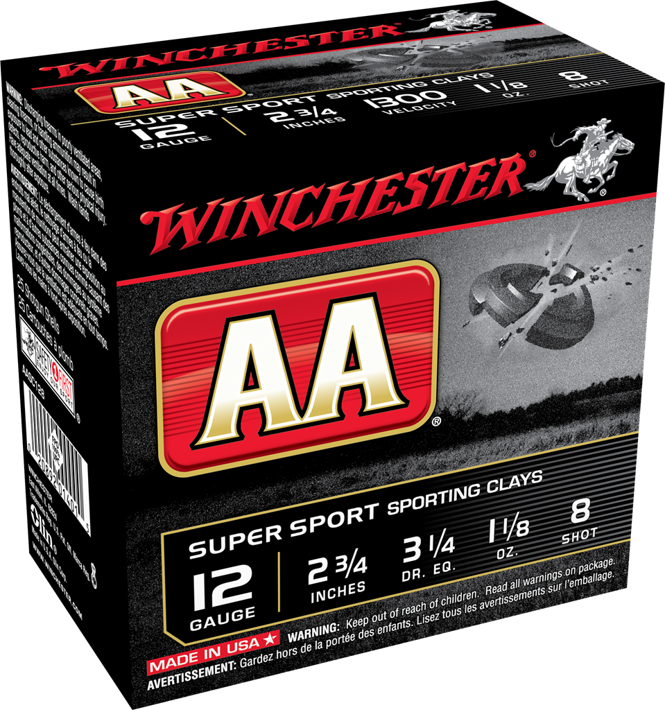Winchester AA Super Sport Sporting Clays Target Load 12 Gauge 2-3/4