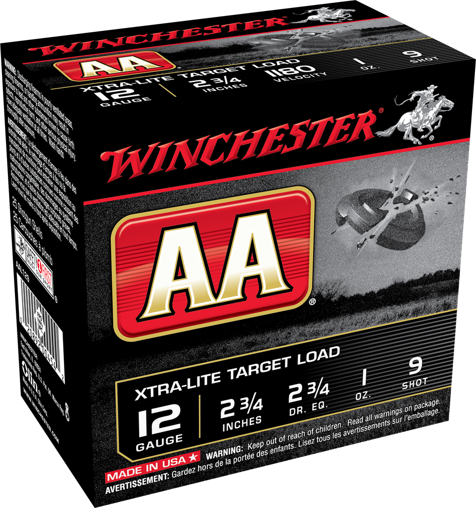Winchester AA Xtra-Lite Target Load 12 Gauge 2-3/4