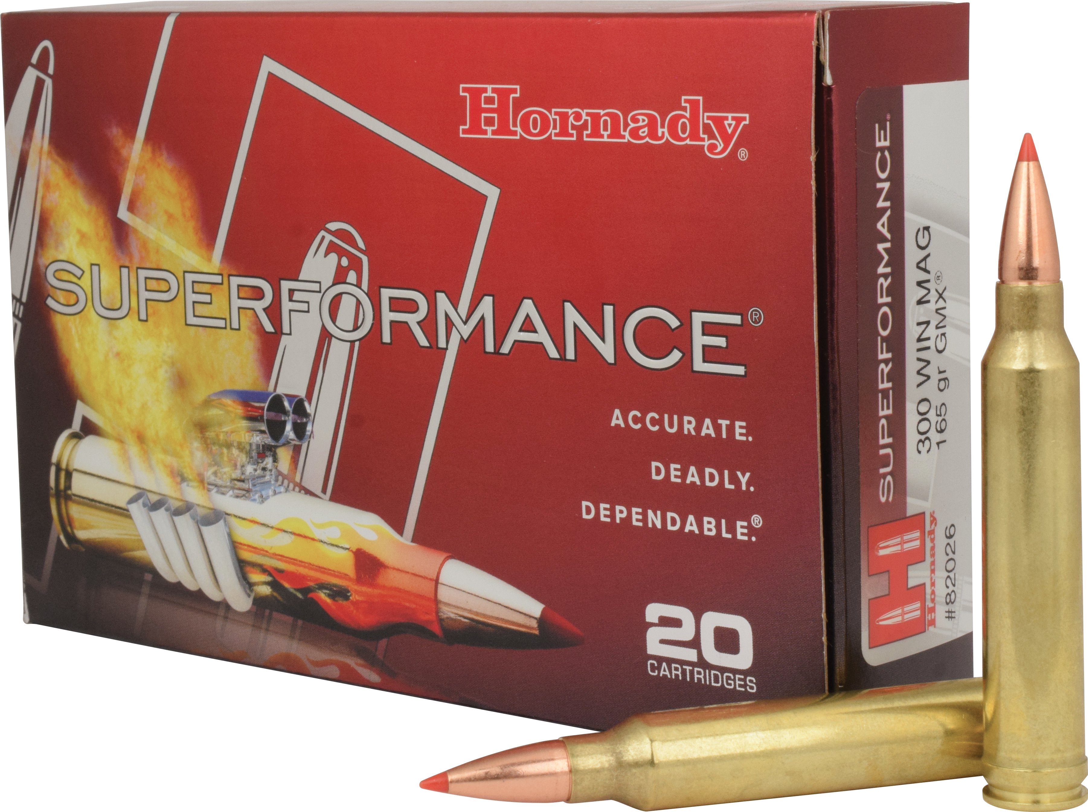 Hornady Superformance Ammunition 6.5 Creedmoor 120GR GMX Polymer Tip Per 20