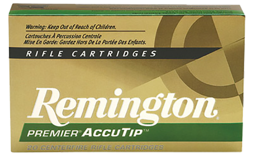 Remington Premier Varmint Ammunition 221 Remington Fireball 50GR AccuTip Polymer Tip Per 20