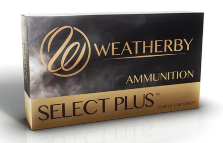 Weatherby Select Plus Ammunition 375 Weatherby Magnum 300GR Nosler Partition Jacketed Soft Point Per 20