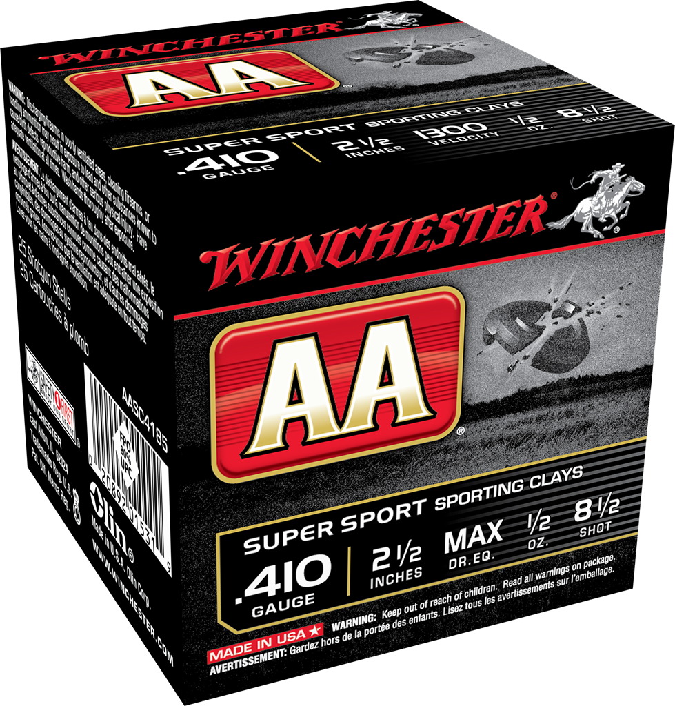 Winchester AA Super Sport Sporting Clays Target Load 410 Bore 2-1/2