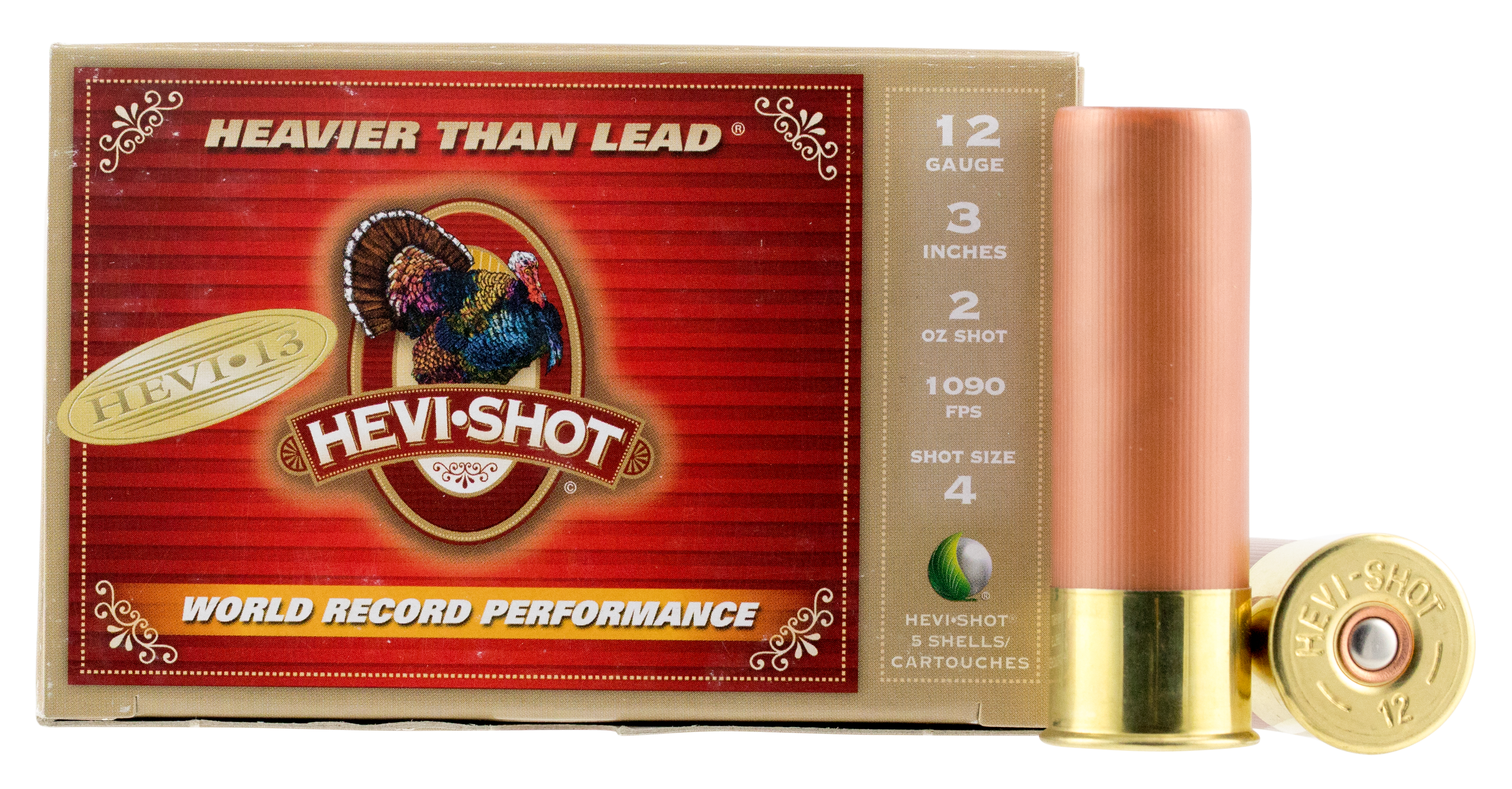 Hevi-Shot Hevi-13 Turkey Ammunition 12 Gauge 3