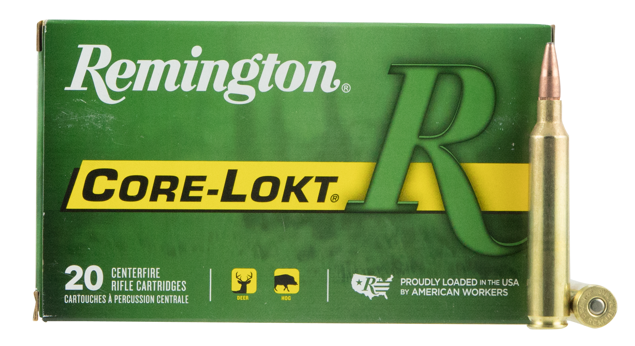 Remington Express Ammunition 7mm Remington Ultra Magnum (RUM) 150GR Core-Lokt Pointed Soft Point Per 20