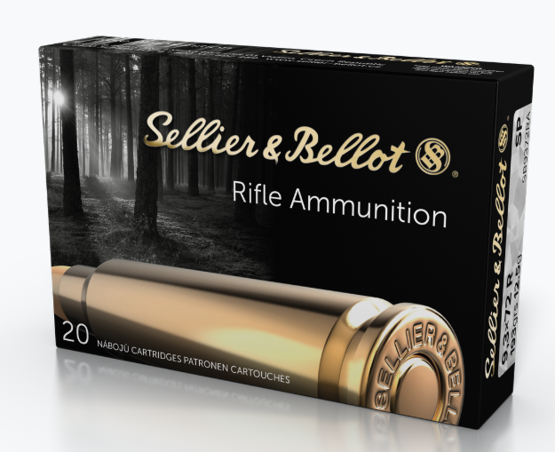 Sellier & Bellot Ammunition 9.3x72mm Rimmed 193GR Soft Point Per 20
