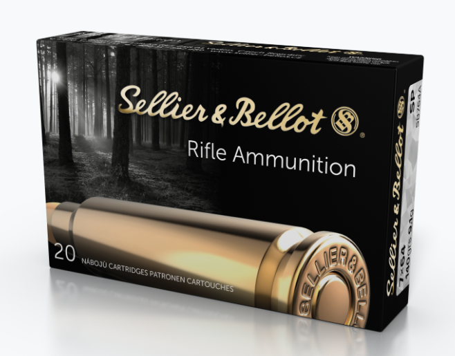 Sellier & Bellot Ammunition 7x64mm Brenneke 139GR Soft Point Per 20