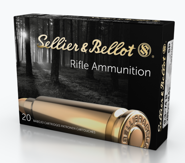 Sellier & Bellot Ammunition 9.3x74mm Rimmed 285GR Soft Point Per 20