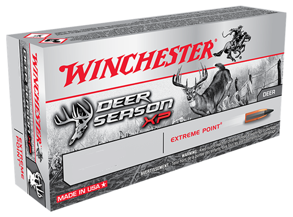 Winchester Deer Season XP Ammunition 7.62x39mm 123GR Extreme Point Polymer Tip Per 20