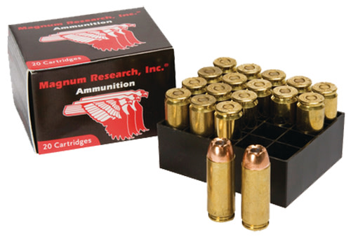 Magnum Research Desert Eagle Ammunition 50 Action Express 300GR Jacketed Hollow Point Per 20