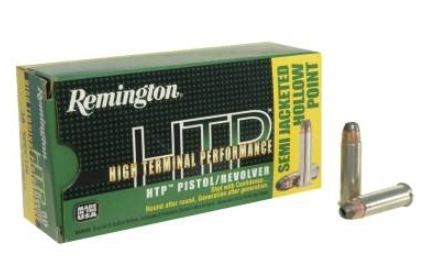 Remington HTP Ammunition 38 Special 110GR Semi-Jacketed Hollow Point Per 20
