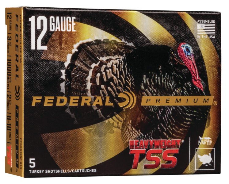 Federal Premium Heavyweight TSS Turkey Ammunition 12 Gauge 3-1/2