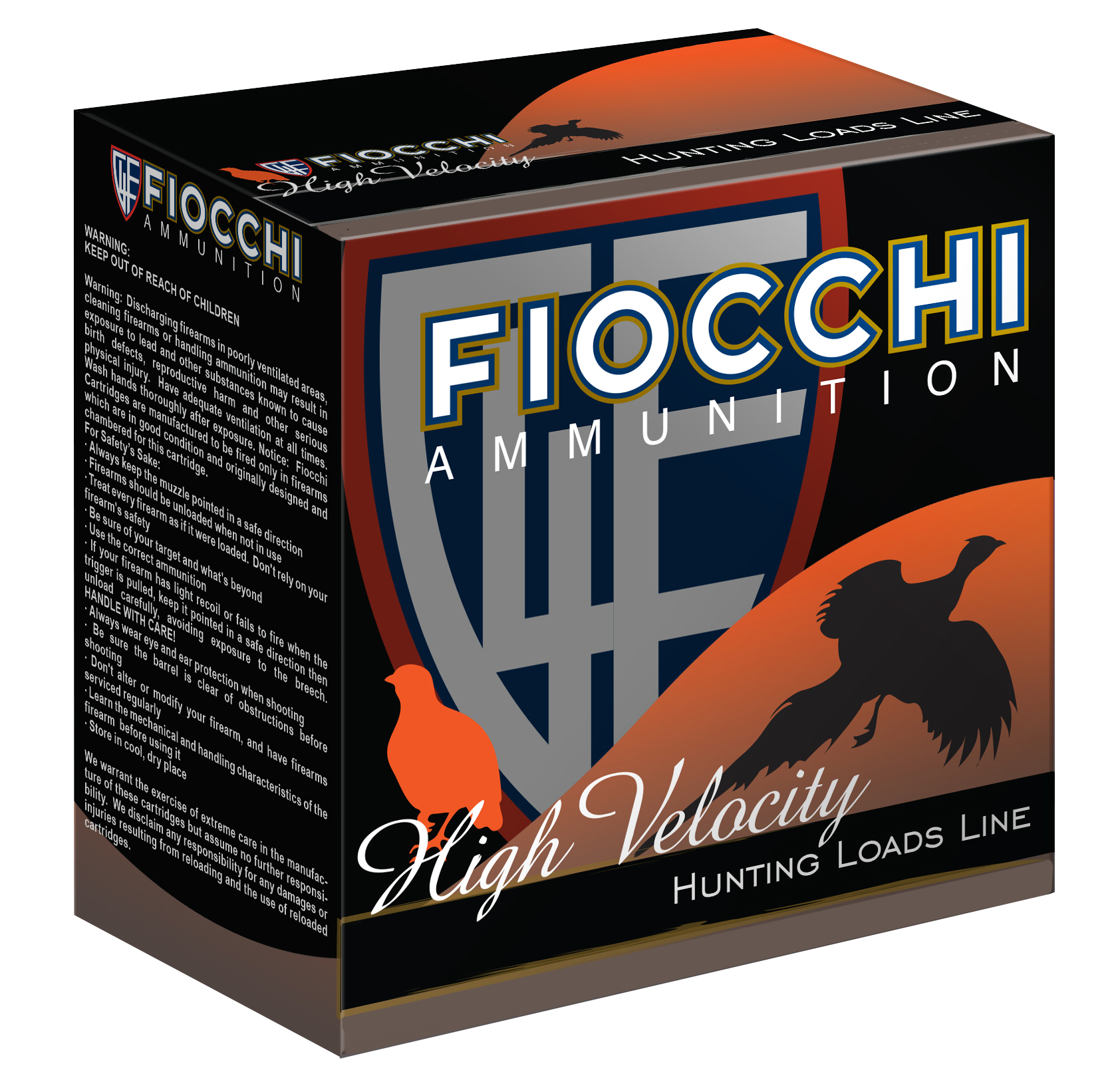 Fiocchi High Velocity Game Load 28 Gauge 2-3/4