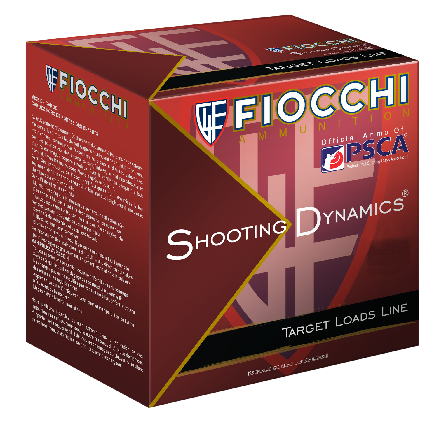 Fiocchi Shooting Dynamics Target Load 20 Gauge 2-3/4