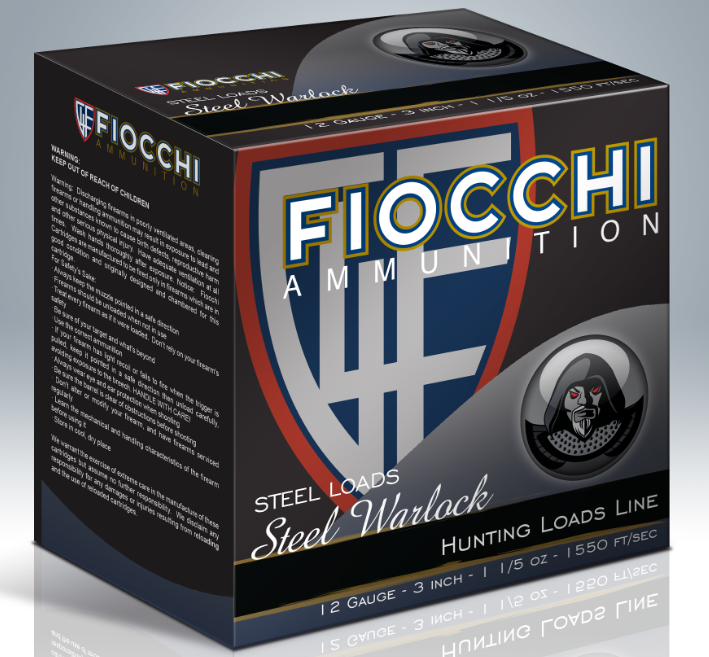 Fiocchi Steel Warlock Waterfowl Ammunition 12 Gauge 3