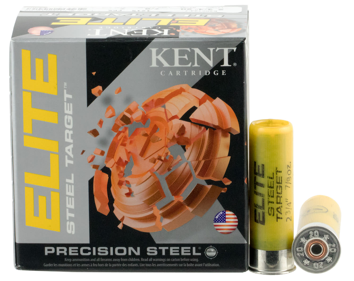 Kent Cartridge Elite Target Load 20 Gauge 2-3/4