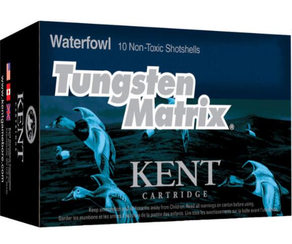 Kent Cartridge Tungsten Matrix Waterfowl Ammunition 20 Gauge 2-3/4